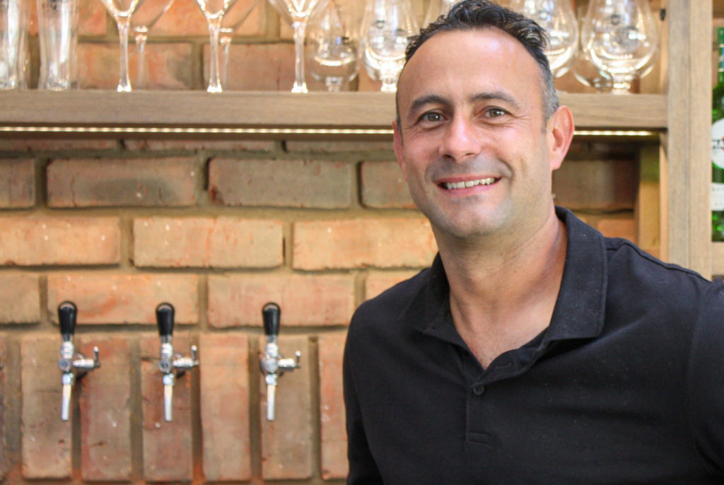Barringtons brewer Marcus Meunier has four beers in the first brewery in Plettenberg Bay